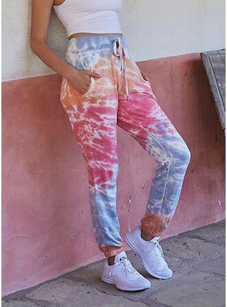 Tie Dye Kordelzug Lässige Kleidung Sportlich Lounge Pants