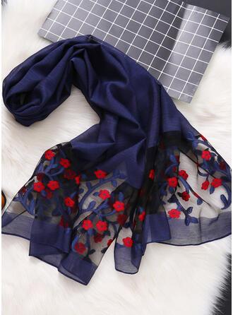 Geometrische drucken/Stitching/Blätter Leicht/Komfortabel/Hautfreundlich Schal