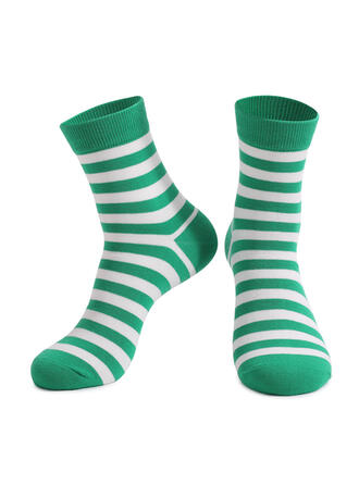 Gestreift Crew Socks/Unisex/St. Patrick's Day Socken