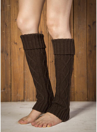 Gestreift/Stitching Warmen/Komfortabel/Damen/Leg Warmers/Boot Cuff Socks Socken