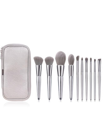 10 PCS Shell Design Griff Make-up Pinsel Sets