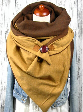 Einfarbig/Stitching mode/einfache Schal