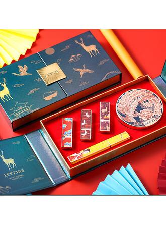 2-farbig Klassisch Papier Kunststoff Lippenstifte BB & CC Creme mit Box