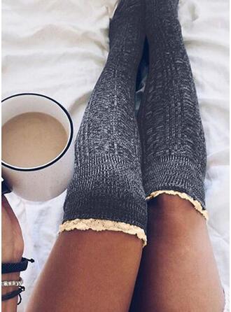 Einfarbig Atmungsaktiv/Komfortabel/Damen/Knee-High Socks Socken/Strümpfe Socken