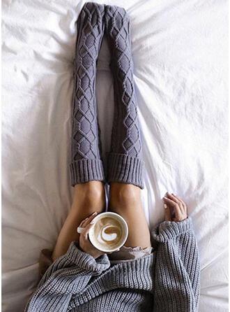 Solid Color Breathable/Comfortable/Women's/Knee-High Socks Socks/Stockings