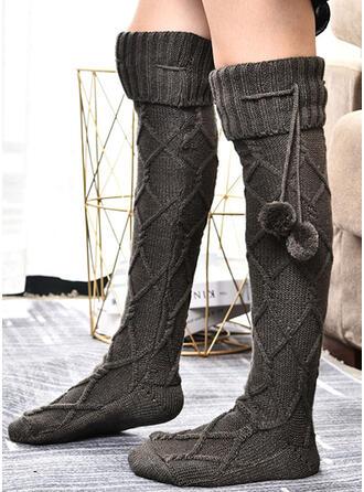 Häkeln Warmen/Damen/Knee-High Socks Socken/Strümpfe Socken