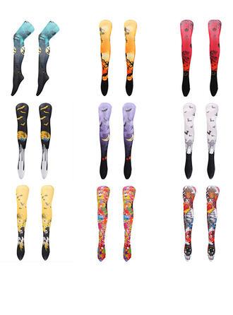 Print Stockings Socks