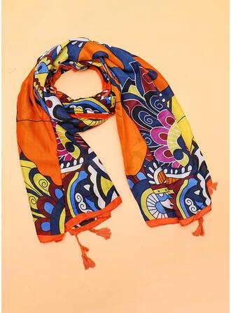 Bunt Wiederverwendbar/Damen/Einfache Stil Schal