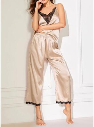 Chinlon Cami Set Pyjama Set