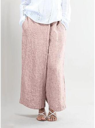 gestreift Lange Lässige Kleidung Lange gestreift Hosen