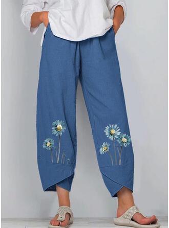 Druck Übergröße Lässige Kleidung Druck Lounge Pants