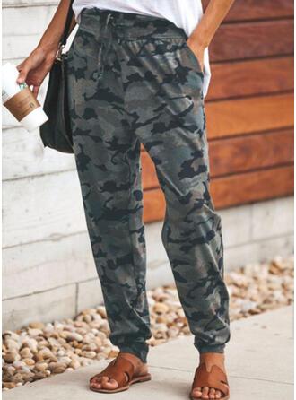Druck Lange Lässige Kleidung Lange Hosen