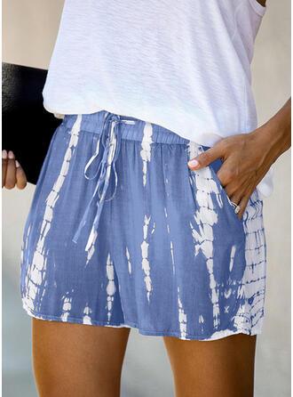 Druck Lässige Kleidung Kurze Hose