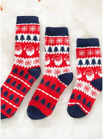 Weihnachtsbaum/Weihnachten Sankt Komfortabel/Weihnachten/Crew Socks/Passende Familie/Unisex Socken