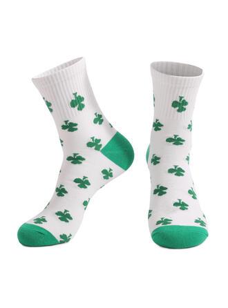 Blätter Crew Socks/Unisex/St. Patrick's Day Socken