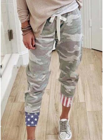 Tarnen Kordelzug Lässige Kleidung Sportlich Hosen Lounge Pants