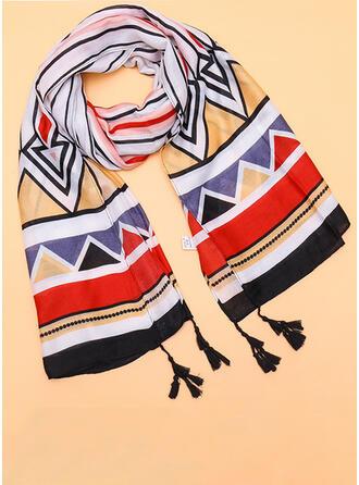 Geometrisch Wiederverwendbar/Damen/Einfache Stil Schal