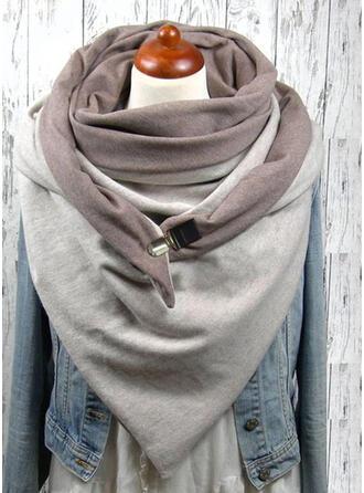Einfarbig/Retro /Jahrgang Wiederverwendbar/Damen/Einfache Stil Schal