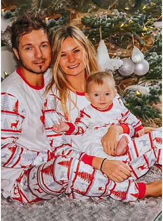 Hirsch Schreiben Drucken Passende Familie Christmas Pajamas
