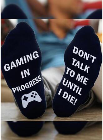 Buchstaben/Druck Komfortabel/Crew Socks/Unisex Socken