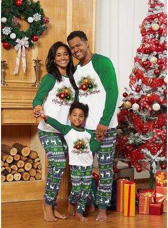 Rentier Schreiben Drucken Passende Familie Christmas Pajamas