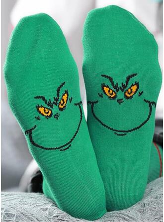 Druck/Tierdruck/Bunt Komfortabel/Weihnachten/Crew Socks/Unisex Socken