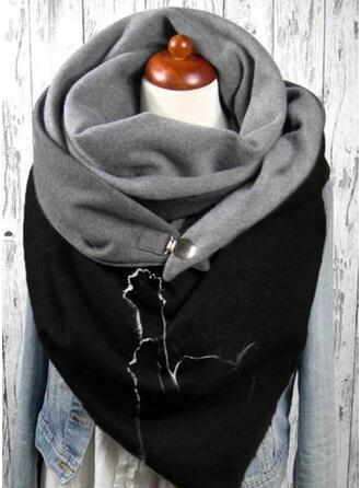 Tier mode/Hautfreundlich/Schwarze Katze Schal