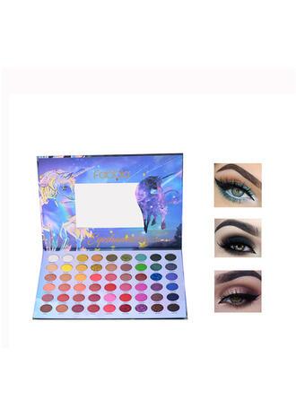 54-farbig Matt Schimmern Lidschatten-Palette mit Box