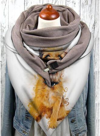 Tier/Druck mode/Warmen/Entwickelt Tier Schal