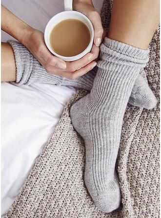 Einfarbig Warmen/Komfortabel/Damen/Crew Socks Socken