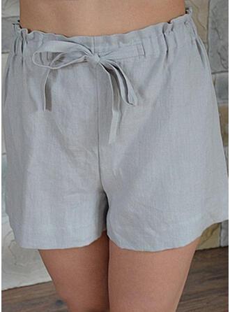 Übergröße Kordelzug Lässige Kleidung Einfach Kurze Hose