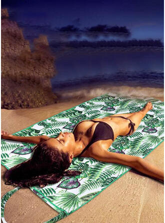 Print attractive/Skin-Friendly/Simple Style Beach Towel
