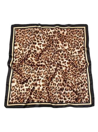 Leopard/Tierdruck mode/Entwickelt Tier/Hautfreundlich Schal/Quadratischer Schal
