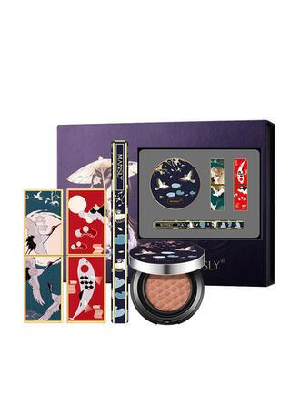 4 STÜCK Matt wasserdicht Aufhellen Öl kontrolle Lippenstifte Eyeliner BB & CC Creme mit Box